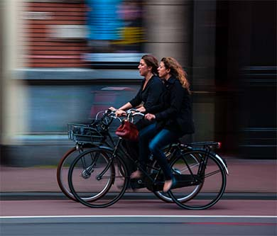 Getting bicycle infrastructure climate-fit